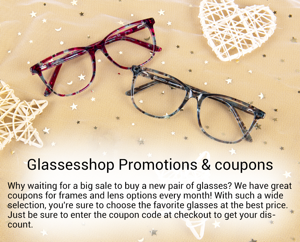 Glassesshop Coupon Codes Glassesshop Promotion Glassesshop Sale