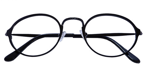 3e2b92ad69f Wilshire Round eyeglasses are made from metal