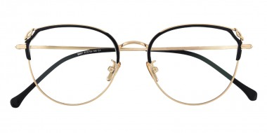 761362e6c92b Gracie Cat Eye - Black Golden