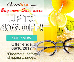 Buy More Save More - Save up to 40% at GlassesShop.com- Expires 6/30