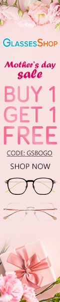 Mother's Day Sale! Buy One Get One FREE Only at GlassesShop.com with code GSBOGO! Offer Expires 05/12.